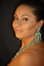 Indian special occasions make-up