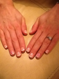 Charlotte - french manicure
