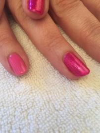 Close up - Hot pop pink & butterfly queen