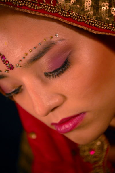 Indian bridal make-up Surrey