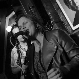 Me singing at Cavern
